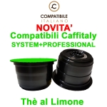 Capsule compatibili Caffitaly System + Pro The al limone Solubile Compatibile It